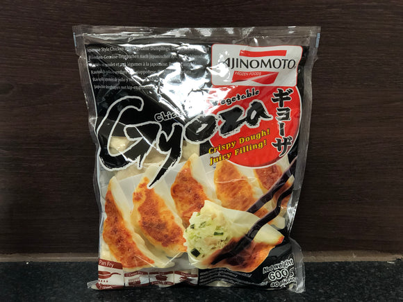 Ajinomoto 日式素菜鸡肉煎饺 Ajinomoto Chicken and Vegetable Gyoza 600g