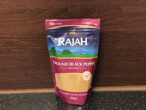 Rajah 黑胡椒粉 Rajah Black Pepper Powder 100g