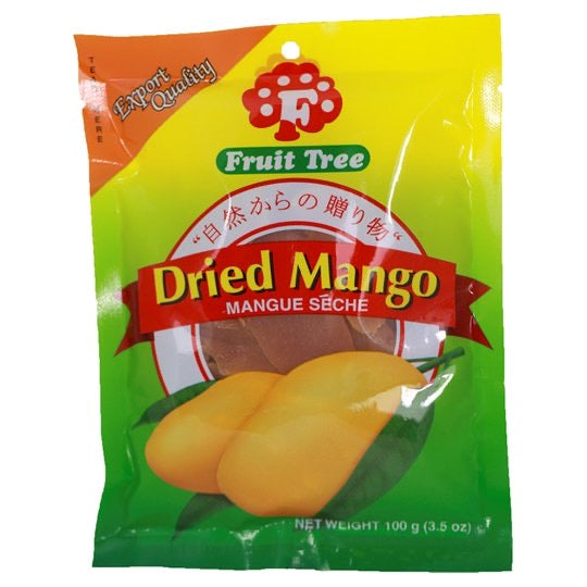 菲律宾芒果干 Fruit Tree Dried Mango 100g