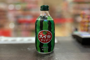 JP 日本碳酸饮料西瓜味 Tomomasu Watermelon Soda 300ml