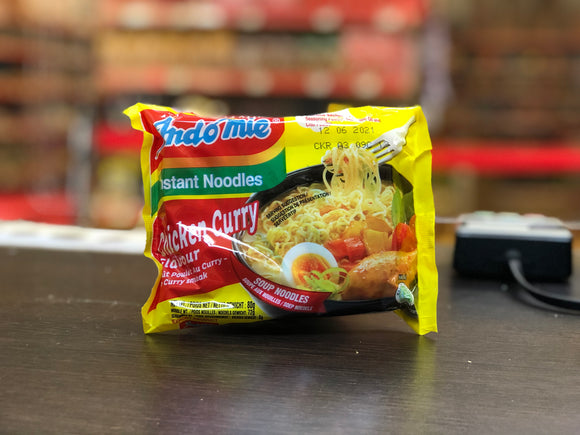 营多汤面咖喱鸡肉味 Indomie Instant Noodles Chicken Curry Flavour 80g