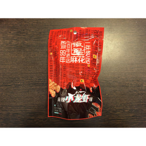 徽記 麻辣小龍蝦味麻花 HJ Fried Dough Twist Hot and Spicy Crayfish Flavour 108g
