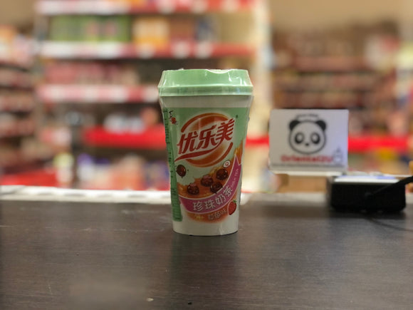喜之郎 优乐美 珍珠奶茶(草莓味) ST Instant Tapioca Milk Tea  (Strawberry Flavor) 70g