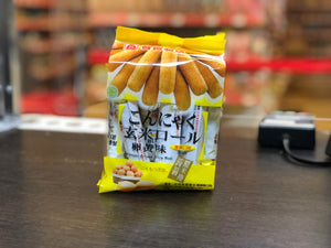 北田 蒟蒻糙米卷 蛋黄味 PT Konjac Brown Rice Roll Egg Yolk Flavour 160g