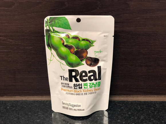 The Real 黑腰豆零食 The Real Black Kidney Bean Snack 80g