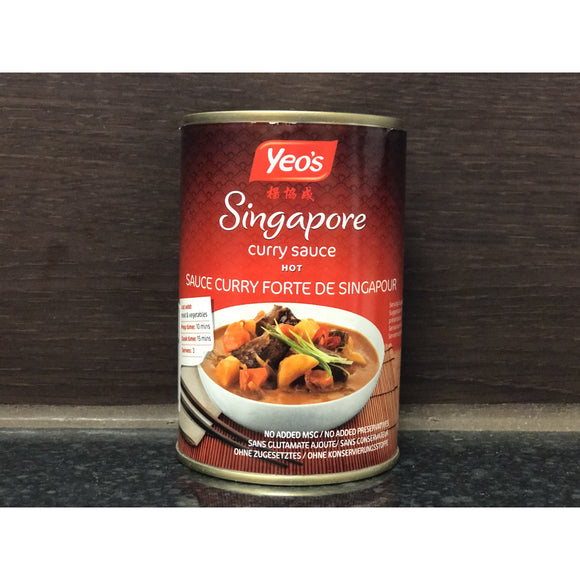 楊協成 新加坡咖喱醬 Yeo's Singapore Hot Curry Sauce 410g