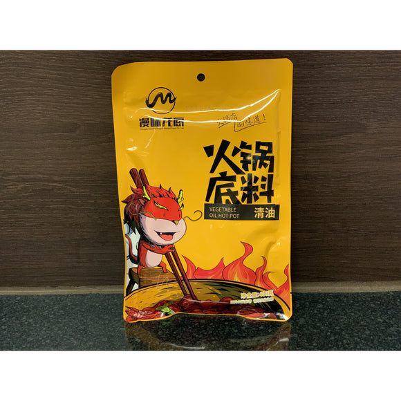漫味龙厨 清油火锅底料 CFDK Vegetable Oil Hot Pot Base 400g