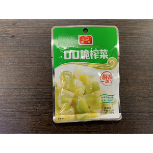 QQ脆榨菜 QQ Pickle Vegetable 50g