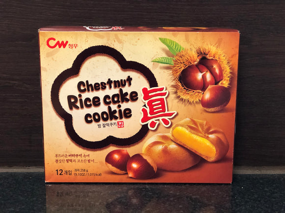 CW 栗子年糕曲奇 CW Chestnut Rice Cake Cookie 258g