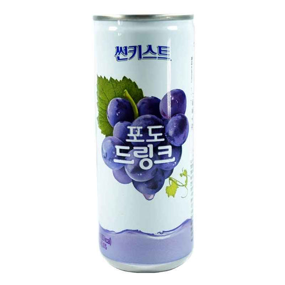 韩国葡萄汁饮料 Haitai Sunkist Grape Drink 240ml