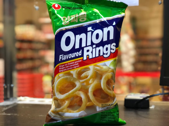 农心 洋葱圈 Nongshim Onion Flavoured Rings 90g