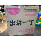 日清出前一丁鲜虾味 整箱30包 Nissin Demae Ramen  Prawn Flavour Whole Box 30packs 30x100g