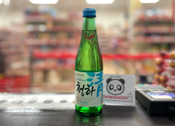 乐天清河 韩国清酒 ChungHa Lotte Korean Sake 300ml