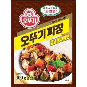 Ottogi 韩国炸酱粉 Ottogi Korean Jjajang Black Bean Powder 100g