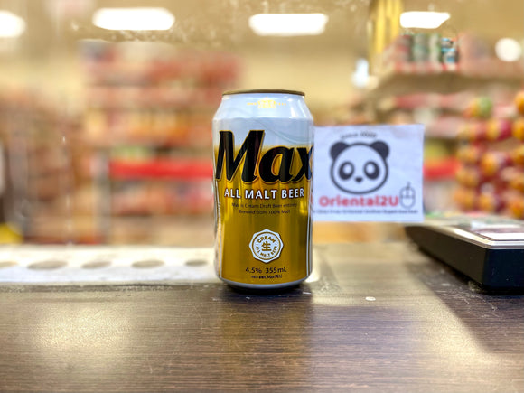Hitejinro 韩国麦芽啤酒 Hitejinro Max Beer 355mL