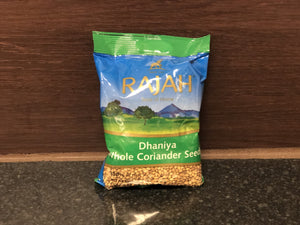 Rajah 香菜籽 Rajah Dhaniya Whole Coriander Seeds 100g