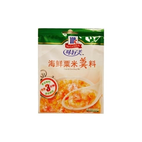 味好美 海鮮粟米羹料 McCormick Crab & Corn Soup Mix 35g