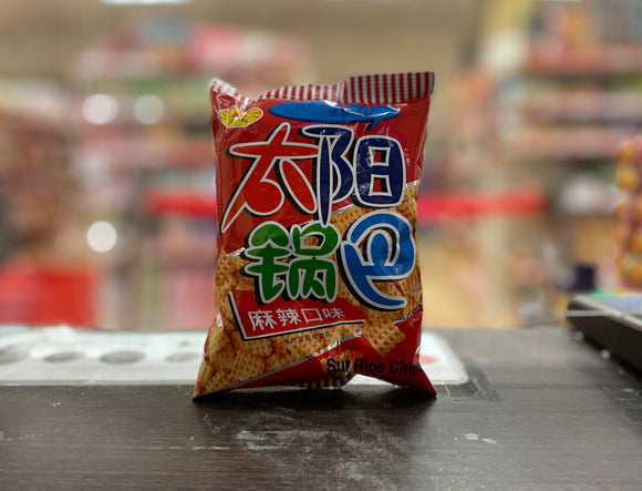 太阳锅巴麻辣口味 TY Square Biscuit Spicy Flavour 45g