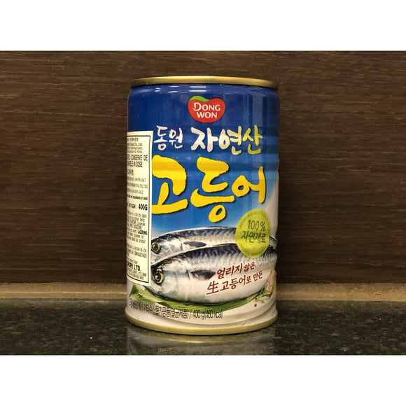 Dongwon 罐頭馬交魚 Dongwon Canned Mackerel 400g