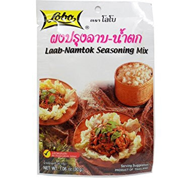 Lobo 炒肉佐料 Lobo Laab Namtok Seasoning Mix 30g