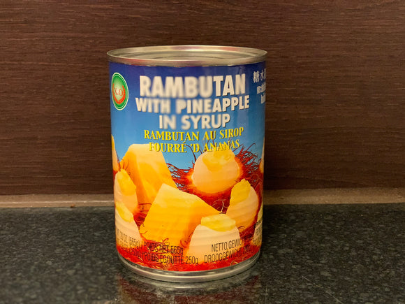 X.O 糖水龙凤果 Rambutan with Pineapple in Syrup 565g