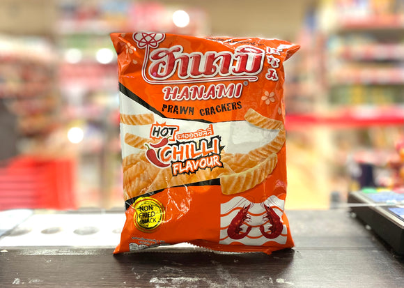 Hanami 辣味虾条 Prawn Crackers Chilli Flv 60g