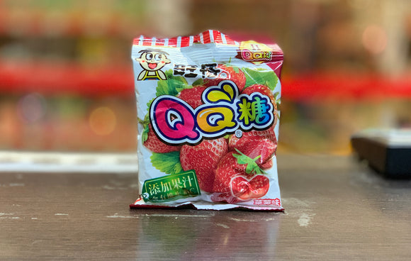旺仔 草莓味QQ軟糖 WangWang Strawberry Flavour QQ Candy 70g