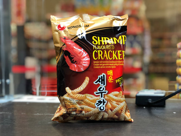 农心 香辣味虾条 Nongshim Hot and Spicy Flavour Shrimp Crackers 75g