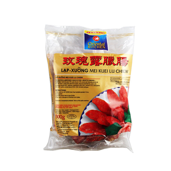 萬興 玫瑰露臘腸 Oriental Kitchen Chinese Sausage 500g