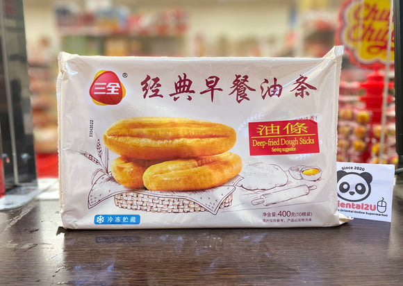 三全 经典原味油条 SQ Deep Fried Dough Sticks 400g
