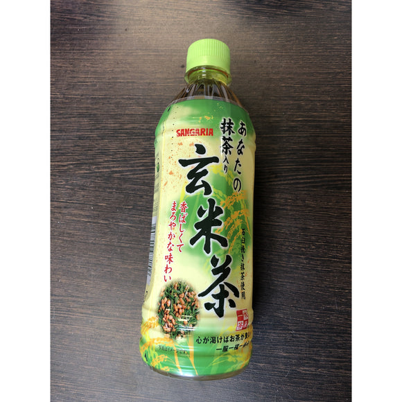 Sangaria 玄米茶 Brown Rice Tea 500ml