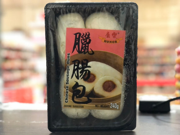 康乐 腊肠包 Honor Chinese Sausage Buns 240g