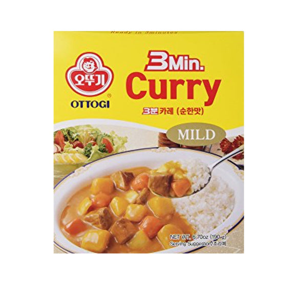 Ottogi 咖喱 (微辣) Ottogi Curry (Mild) 200g