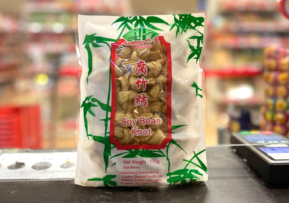 竹园 腐竹结 Bamboo House Brand Dried Soybean Knot 170g