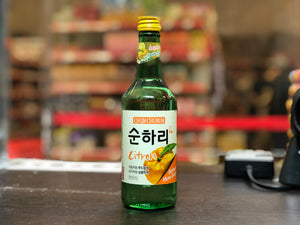 Chum Churum 韩国烧酒橘子味 Citron Flv Soju 360ml