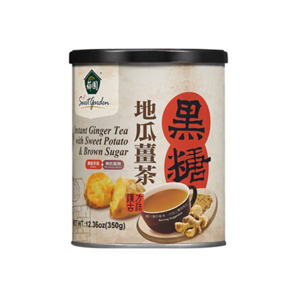 薌園 黑糖地瓜薑茶 Sweet Garden Instant Ginger Tea with Sweet Potato & Brown Sugar 350g