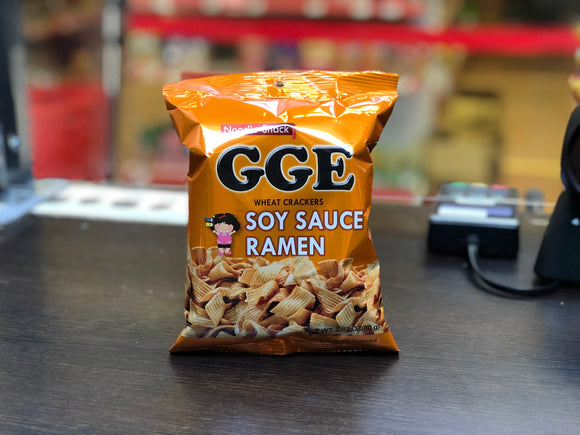 张君雅 方便面条酱油味 GGE Wheat Crackers Soy Sauce Flv 80g