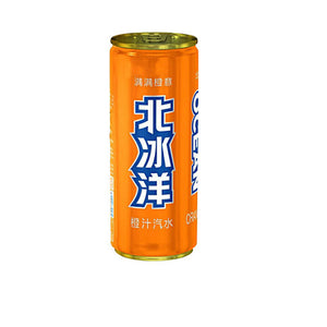 北冰洋 橙汁汽水 AO Orange Fizzy Drink 330ml