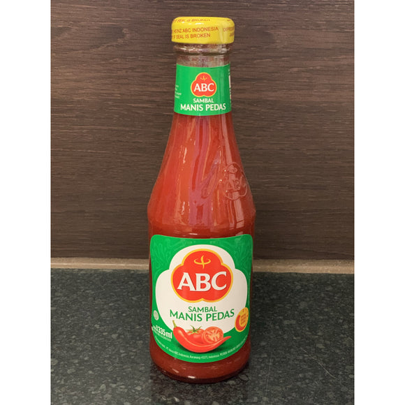 ABC 辣甜辣椒酱 Sweet Hot Chilli Sauce 335ml