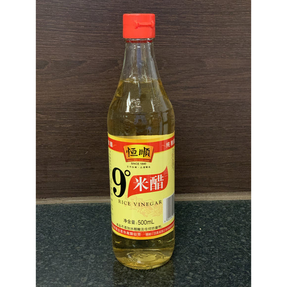 恒顺 9 °米醋 Hengshun 9 ° Rice Vinegar 500ml