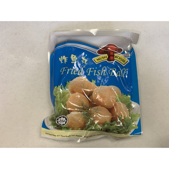 蘑菇牌炸魚蛋 Mushroom Fried Fish Ball 160g