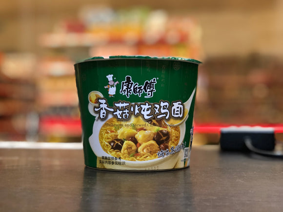 康師傅香菇炖雞碗麵 Kangs Chicken Mushroom Flavour Noodle Bowl 101g
