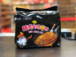 白象 韩式火鸡拌面 五连包 BX Hot Chicken Stir-Fried Noodles Multipack 112g x 5