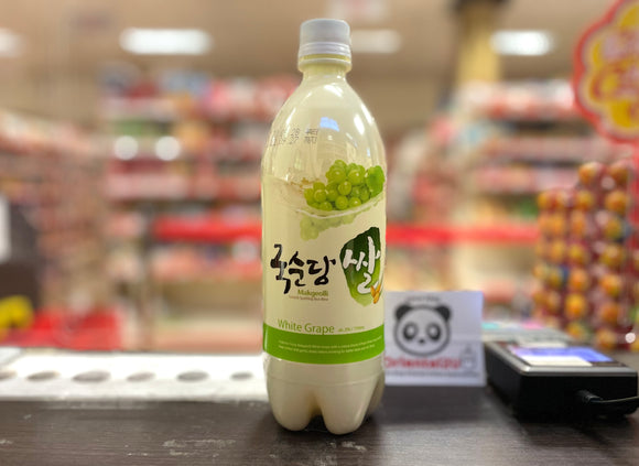 韩国青提米酒 Makgeolli Korean White Grape Rice Wine 750ml