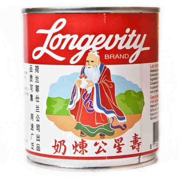寿星公 炼奶 Longevity Brand Sweetened Condensed Milk 305ml