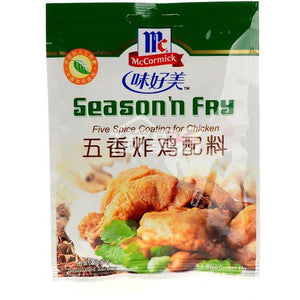 味好美五香炸雞配料 McCormick Season'n Fry: Five Spice Coating for Chicken 45g