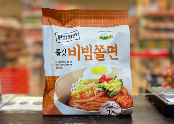 ChilKab 韩国香辣冷拌面 Korean Style Spicy Chewy Noodle with Sauce 424g