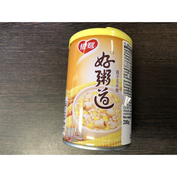 銀鷺 蓮子玉米粥 Yin Lu Lotus Seed & Corn Mixed Congee 280g