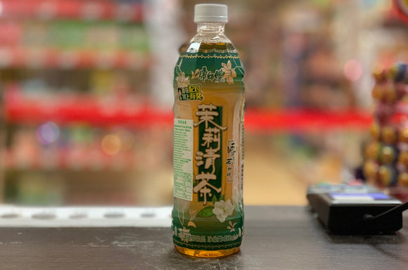康師傅茉莉清茶 Hongs Jasmine Tea Less Sugar 500ml