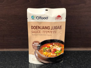 OFood 韩式大酱汤酱 OFood Doenjang Jjigae Soybean Paste Stew Sauce 140g